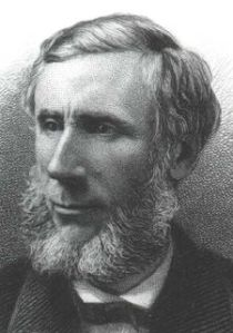 John Tyndall of Leighlinbridge Co Carlow, pictured here was the first to explain why the sky is blue and to discover 'greenhouse gases' in the Earth's atmosphere (Credit: Wikipedia)