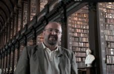 Professor Stefano Sanvito, Deputy Director of CRANN, pictured here in the Long Library at TCD