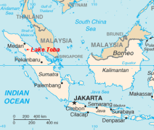 Lake Toba Location