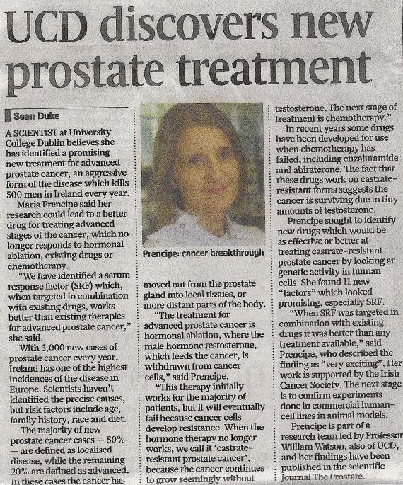 UCD Prostate Story