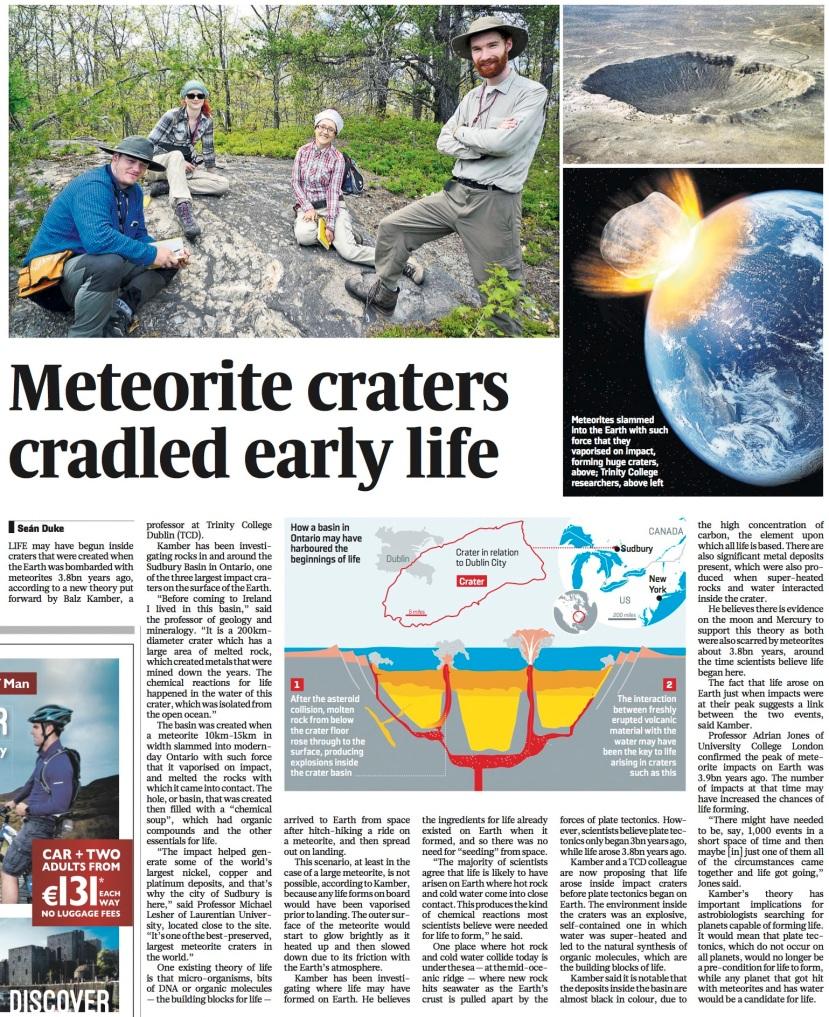 Meteorite Craters